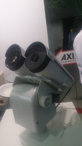 Поворотная сетевая камера с тепловизионным сенсором