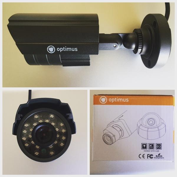 Аналоговая камера от компании Optimus
