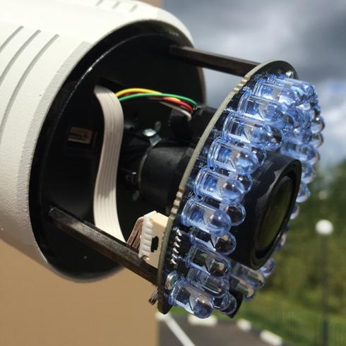 Устройство ИК подсветки камеры Hikvision