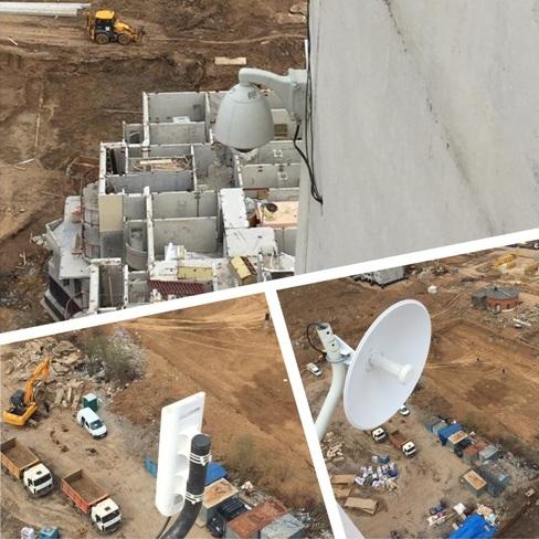Антенны радиомоста на основе оборудования Ubiquiti